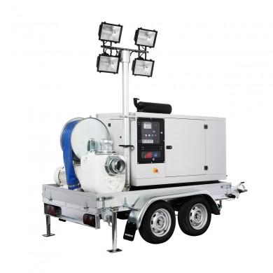 Мултифункционална моторна помпа LAMPO Emergency ELA 02 CD – за бърза реакция при природни бедствия и аварийни ситуации