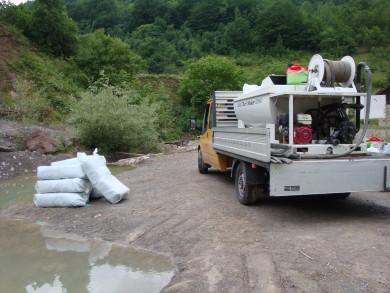 Хидросеялка Turf Maker - за отдаване под наем