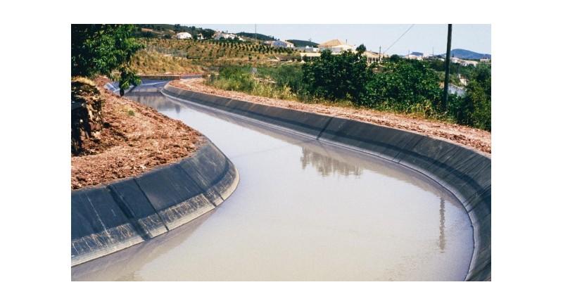 Изграждане на напоителни водоеми и канали